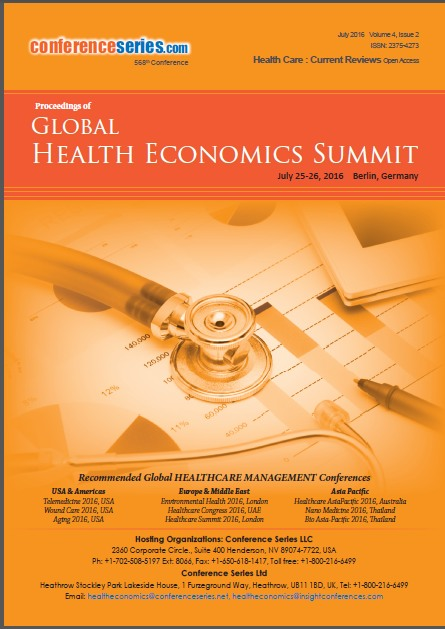 Health Economics 2016 Proceedings