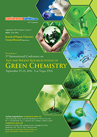 Green Chemistry 2016 Proceedings