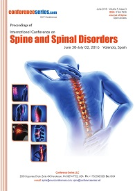 Spine and Spinal Disorders 2016