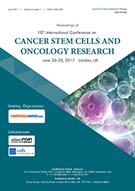 10th International Conference on CANCER STEM CELLS AND ONCOLOGY RESEARCH June 26-28, 2017 London, UK