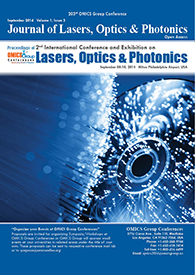Laser Photonics 2019 - 5th International Conference and Exhibition on Lasers, Optics & Photonics