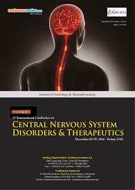 International Conference on Central Nervous System Disorders & Therapeutics 2015