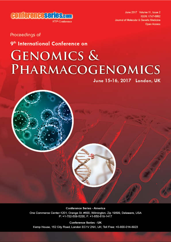 9th International Conference on Genomics & Pharmacogenomics