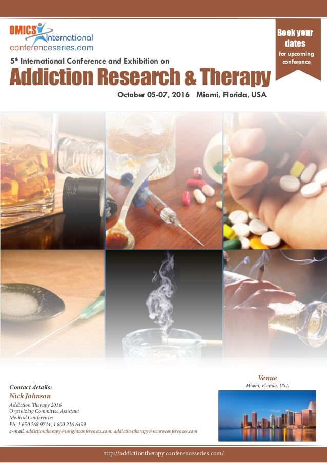 Proceedings of Addiction 2016