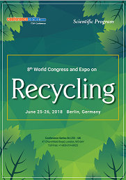8th World Congress and Expo on RECYCLING 2018