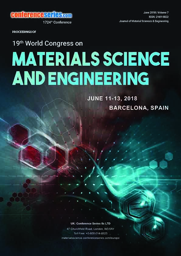 19th World Congress on Materials Science and Engineering