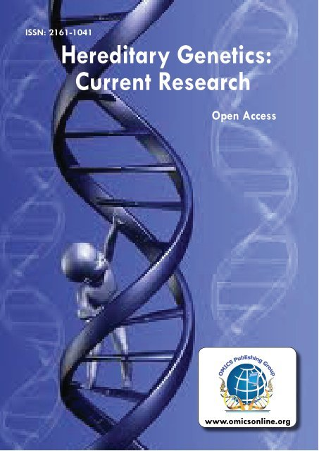 Proceedings of Hereditary Genetics: Current Research