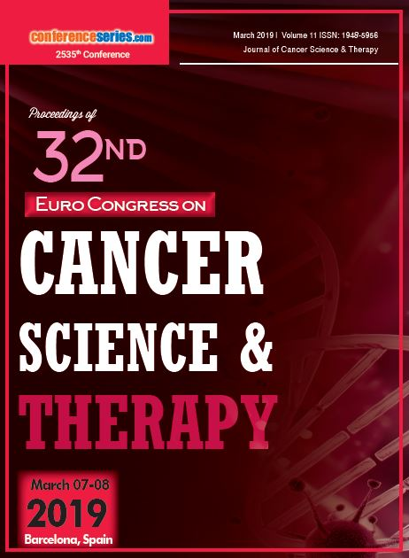 32nd Euro Congress on Cancer Science & Therapy