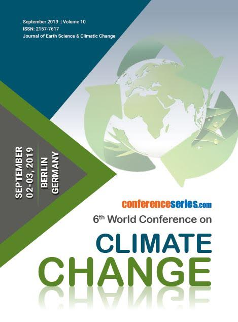 6th World Conference on Climate Change  September 02-03, 2019 | Berlin, Germany