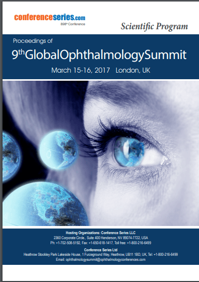 9th Global Ophthalmology Summit  March 15-16, 2017 London, UK