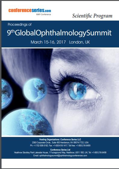 9th Global Ophthalmology Summit  March 15-16, 2017 London, UK