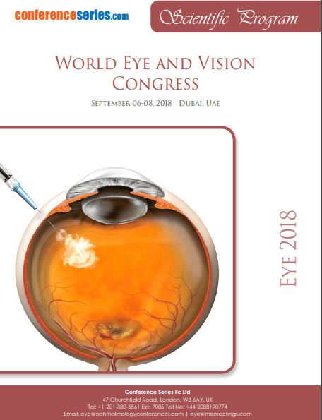 World Eye and Vision Congress  December 09-10, 2019 Dubai, UAE