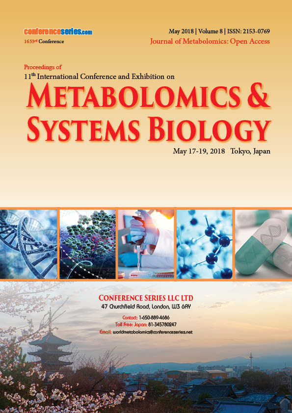 Metabolomics Congress 2018 Conference Proceedings