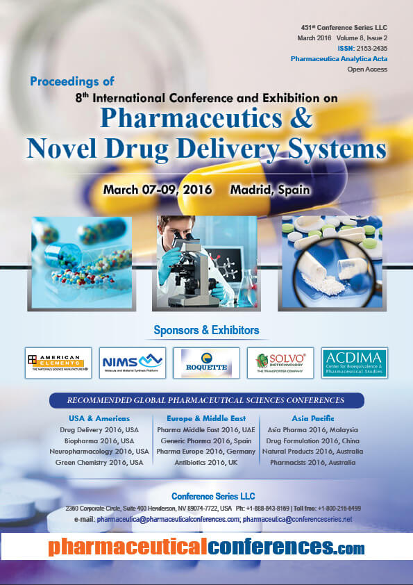 Pharmaceutica 2016 Proceedings