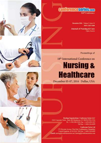 18th International Conference on Nursing & Healthcare  | December 05-07, 2016 | Dallas, USA