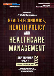 Health Economics 2018 Proceedings