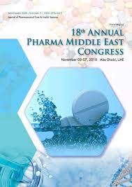 Pharma Middle East 2018 Proceedings