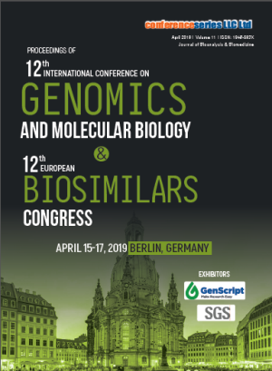 Joint Event on 12th International Conference on Genomics and Molecular Biology & 12th European Biosimilars Congress