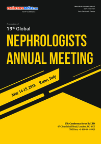 19th Global Nephrologists Annual Meeting May 14-15, 2018 | Rome, Italy