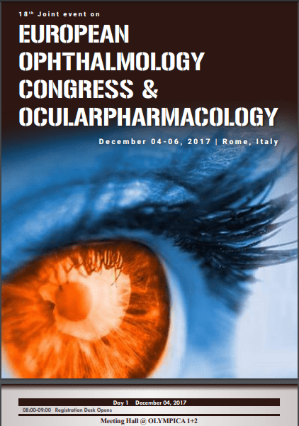 18th Joint event on European Ophthalmology Congress & Ocular Pharamacology  December 04-06, 2017 | Rome, Italy