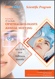 18th Asia Pacific Ophthalmologists Annual Meeting  July 29-30, 2019 | Melbourne, Australia