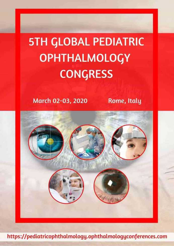 Pediatric Ophthalmology Congress 2020