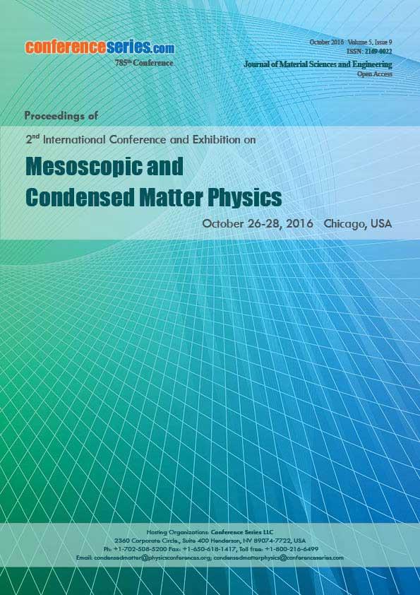 CondensedMatter Physics 2016