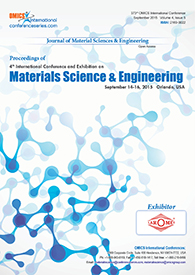 Materials science & Engineering 2015 proceedings