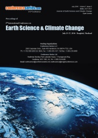 5th International Conference on Earth Science and Climate Change