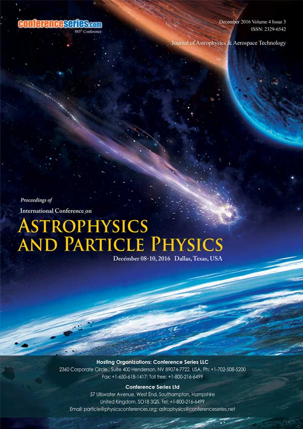 Astro Physics and Particle Physics