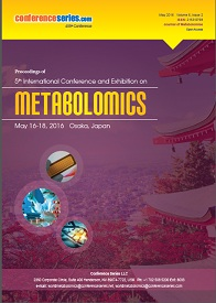 Metabolomics Congress 2016 Conference Proceedings