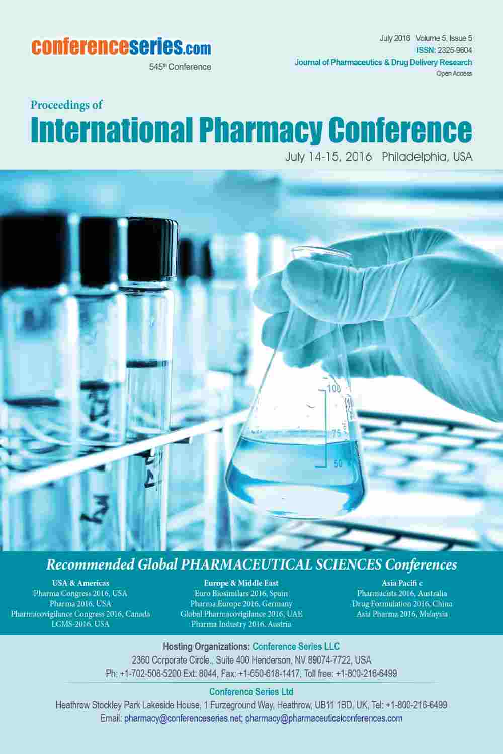 Pharmacy 2016 Proceedings