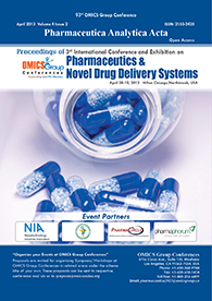 Pharmaceutics and Novel Drug Delivery Systems 2013 Proceedings