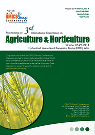 3rd International Conference on Agriculture & Horticulture