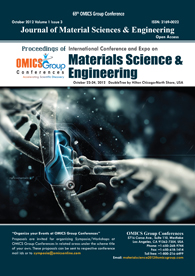 Materials Science-2012 Conference Proceedings