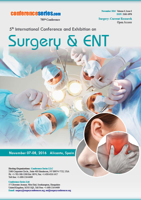 Surgery 2016 Conference Series LLC