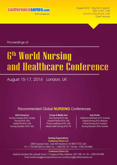 Nursing 2016 London UK.