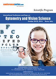 International Conference and Expo on Optometry and Vision Science