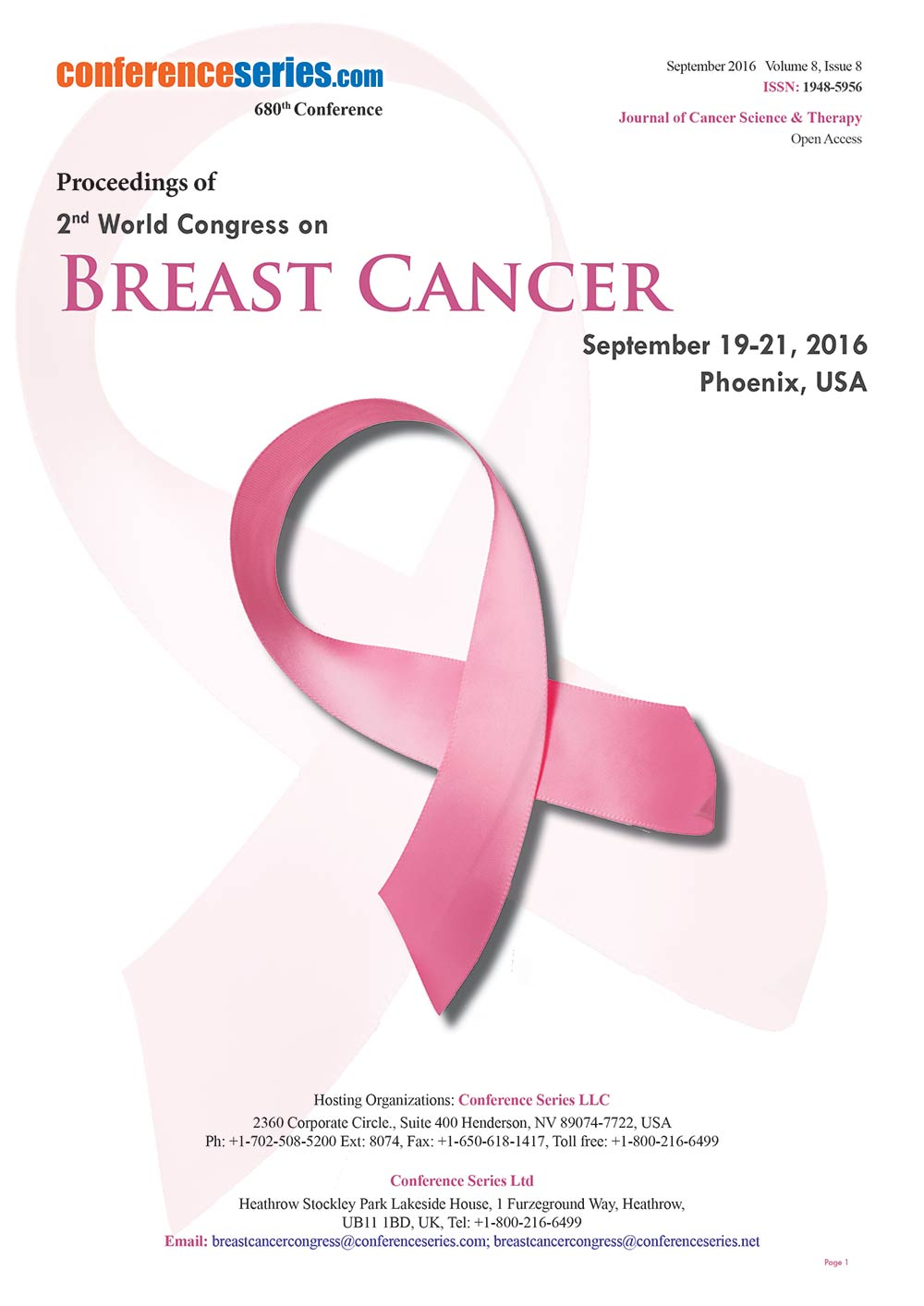 Breast Cancer 2016