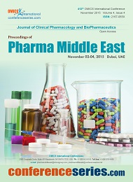 Pharma Middle East 2015 Proceedings