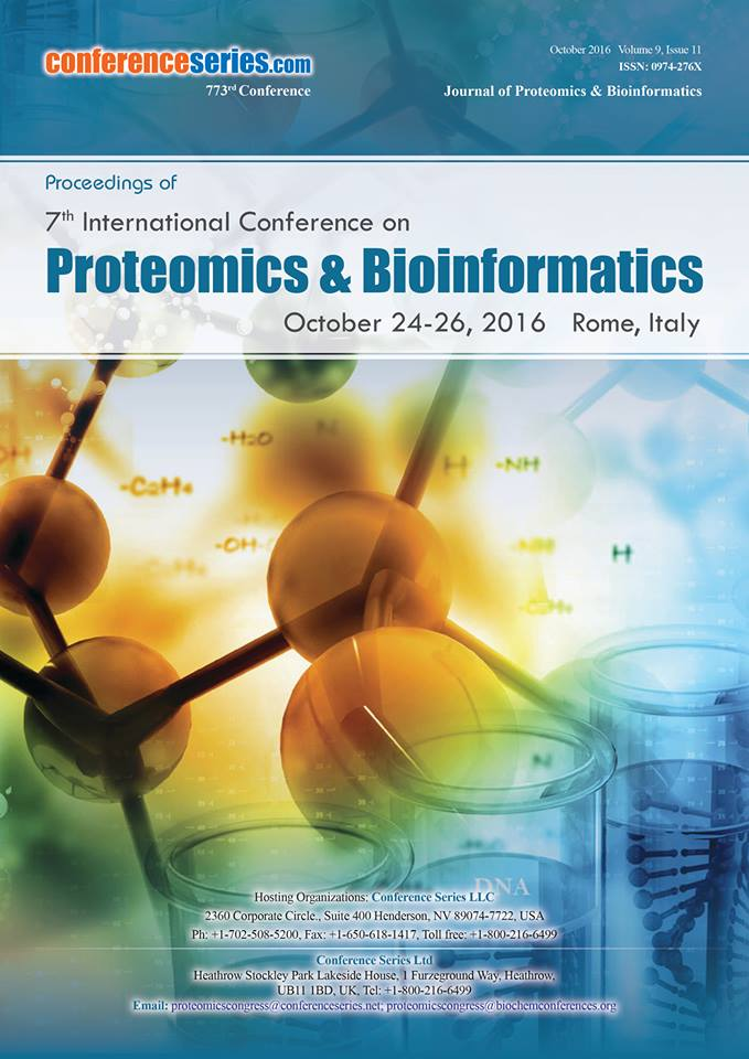 Proceedings of Proteomics and Bioinformatics 2016