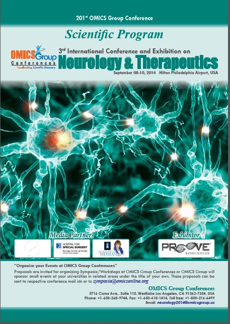 3rd International Conference and Exhibition on Neurology & Therapeutics