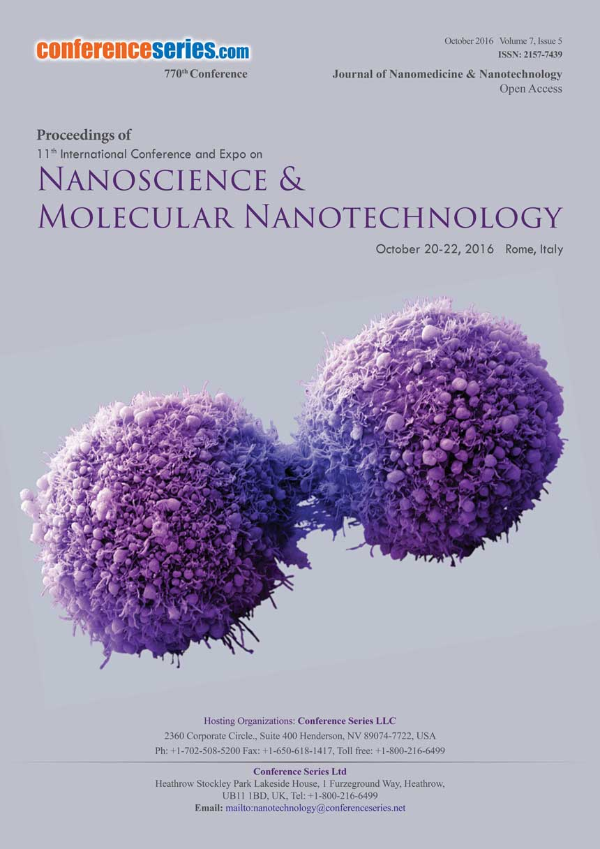 Nanoscience | 2016| Rome | Italy| Europe | Conferenceseries