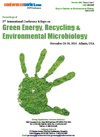 Green Energy, Recycling and Environmental Microbiology Proceeding