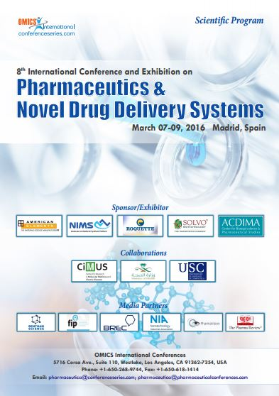 Pharmaceutics & Novel Drug Delivery Systems