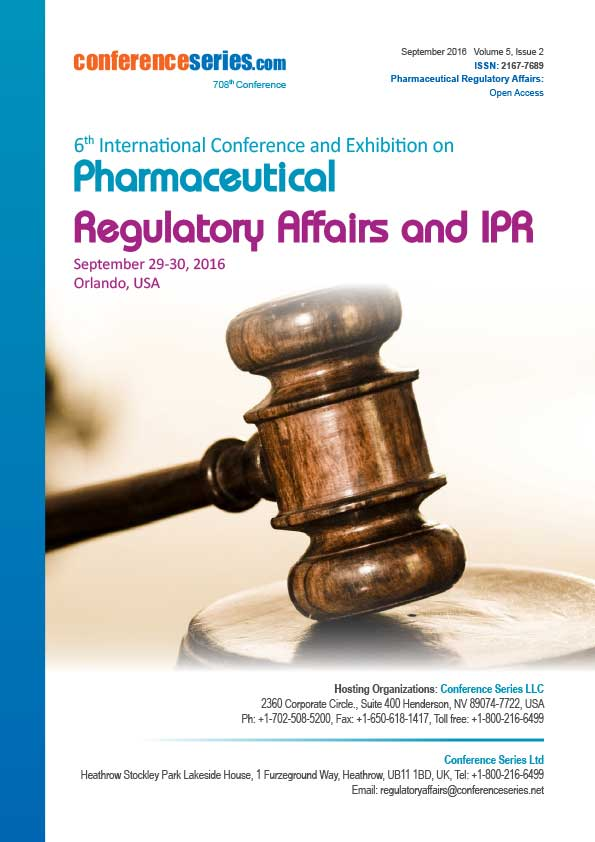 Pharmaceutical Regulatory Affairs and IPR