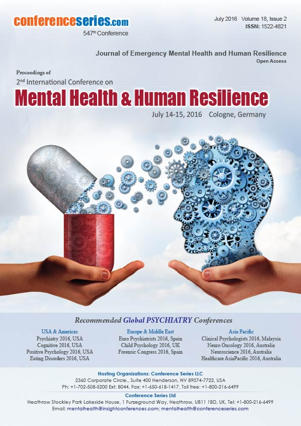 International Journal of Emergency Mental Health and Human Resilience