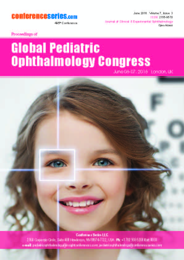 Pediatric Ophthalmology 2016 | London