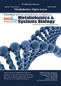 Metabolomics 2013 Conference Proceedings