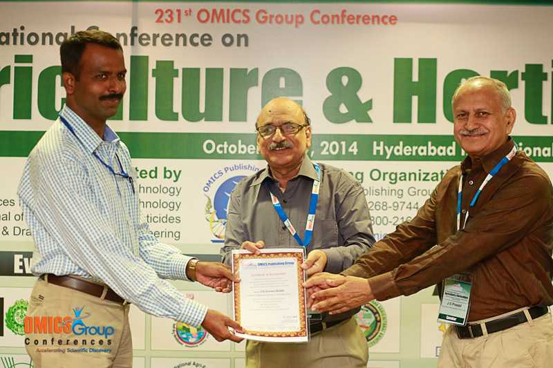 S G Eswara Reddy | OMICS International